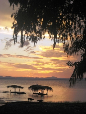 sunset, Isla Ometepe